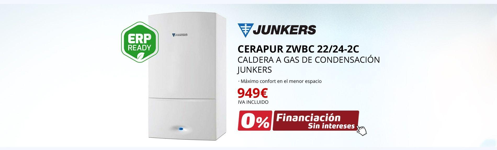 Cerapur ZWBC 22/24-2C - Caldera a gas de condensación Junkers